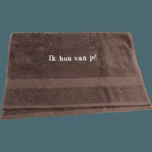 handdoek gebord