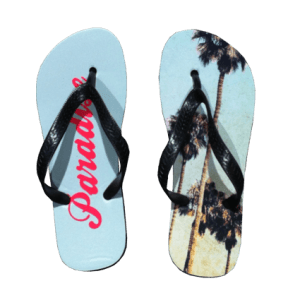 flip flops bedrukt