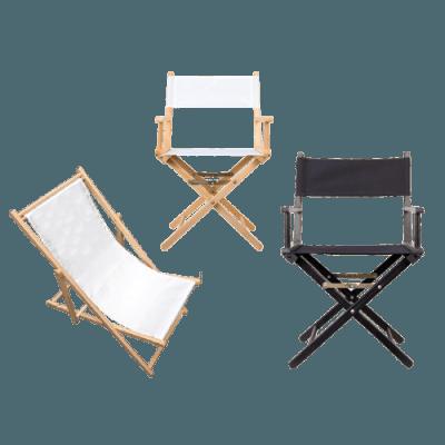 Regisseursstoelen & Strandstoel