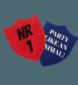 Badge Schild