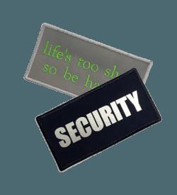 Badge Rechthoek