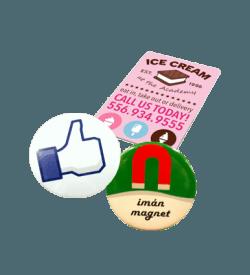 Magneten & button